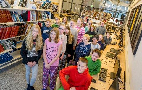 Kapittel 6 er skrevet av klasse 7A ved Hallingby skole.
