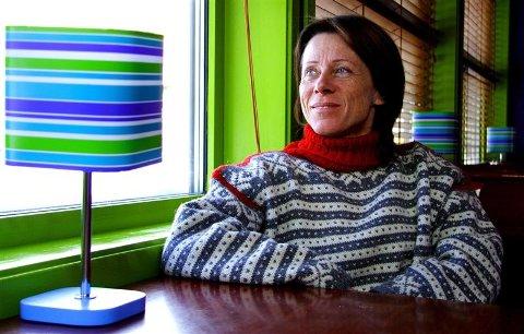 Elisabeth Edland, vinner av 50-mila i Finnmarksløpet 2007. Foto: Sveinung Svendsen