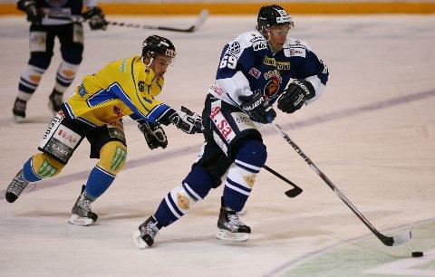 Henrik Malmstrøm i en tidligere kamp mot Storhamar.