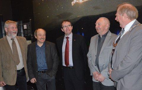 Fra venstre: Erling Strand, Jan Moen, Jon Arvid Aspå og Jan Håvard Refsethås.