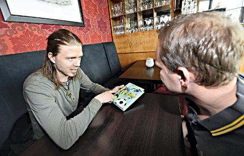 Trond Andersen ga tidligere i år ut boka «Fotballguiden». Nå skal han trene Lyn i 2. divisjon.
