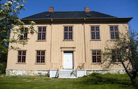 Yttersø gård: Huset er blitt ført tilbake til den gang det var nytt i 1850.