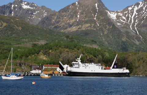 Fergesambandet Skutvik-Svolvær vil kun gå om sommeren.