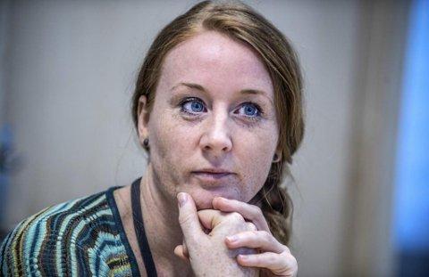 I OPPSTARTFASEN: Politioverbetjent Åsa Ingrid Eldøy ved Seksjon for seksuelle overgrep og familievold på Follo politistasjon er i ferd med å ta i bruk politiversjonen av SARA (Spousal assault risk assement guide), et verktøy for å identifisere forhold der vold kan utarte til å bli alvorlig eller dødelig