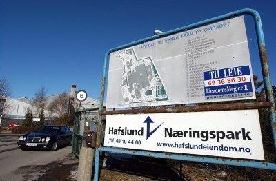 MER NYTT: Det skjer mye i Hafslund Næringspark for tiden. (Foto: Jarl M. Andersen)