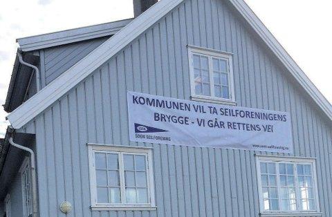 Soon Seilforening blir ikke enig med Vestby kommune om eierrettighetene rundt brygga utenfor klubbens lokaler. Nå varsler de at det blir rettssak.