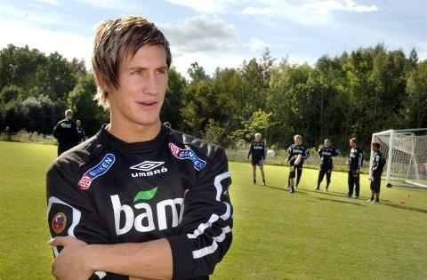 Morten Gamst Pedersen skal bygge hytte i Målselv Fjellandsby. 180 kvadrat skal stå ferdig om et par år,