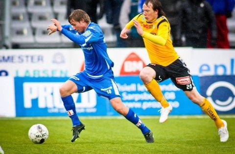 ØNSKER SEIER: Nicolay Solberg ønsker mer enn gjerne at det skal bli seier i treningskampen i dag mot Lillestrøm. (Foto: Thomas Andersen)