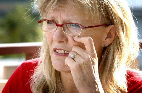 INGEN MEDISIN: Karin Andersen har ingen effektiv medisin mot sykehusnedleggelser.