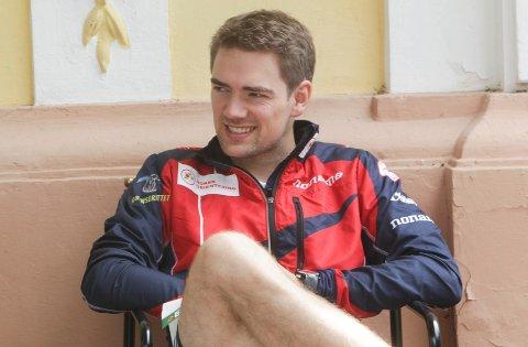 Slik smiler en verdensmester fra Halden!