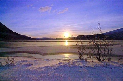 Jula blir kald og klar, ifølge meteorologene.  Foto: Christer S. Johnsen
