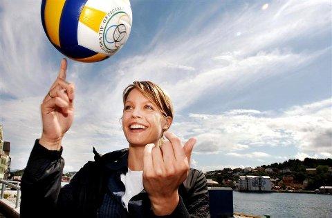 Unn Kvendseth har tatt over som leder i KVBK. 25-åringen fra Svelgen lover at Kristiansund skal være et kraftsenter for volleyball også i framtida.