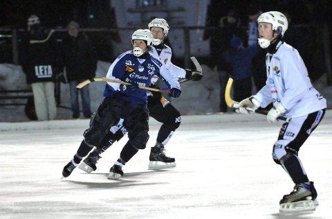 TIDLIGERE: For Hans Gunnar Thorsen ble det nesten som året han ble NM mester i går. Han gledet seg stort over å være på banen.