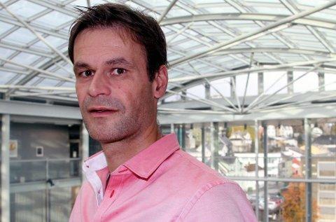 LEDER ARBEIDET: Arne Donald Andersen er sekretariatsleder for Oppreisningsordningen i Tromsø kommune.Foto: Knut-Eirik Lindblad