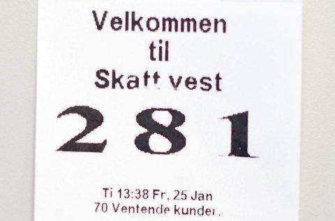 Hvert år plukker Skatteetaten ut grupper av skattytere som skal gjennom en grundigere sjekk enn andre. (Arkivfoto)