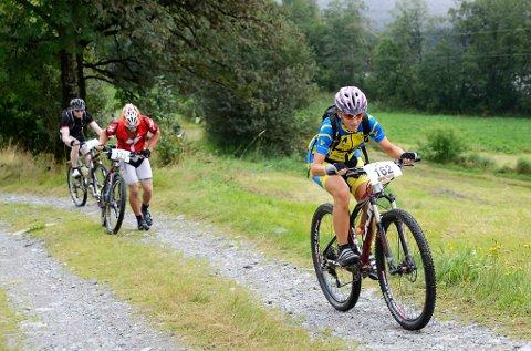 Hege Vagstad frå Dale IL Sykkel var raskaste kvinne over målstreken på 2:00:36.