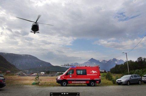 En mann er funnet omkommet på Kvaløya mandag.