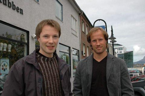Radarpar. Brødrene Arild og Runar Berg har allerede etablert seg som et radarpar innen eiendomsbransjen.