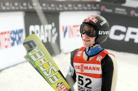Anders Jacobsen var beste nordmann på kvalifiseringen til normalbakken i Midtstuen.