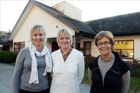 Ledere: Tove Karin Halse Lervik (til venstre) og Heidi Vinje er tidligere daglig ledere ved Hips, i dag er det Elsa Bjørkås som leder den daglige driften.