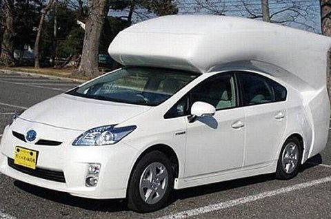 Toyota Prius skal i tiden fremover danne grunnlag for en hel familie med forskjellige bilmodeller. Denne oppsiktsvekkende campingbilen er det imidlertid en separat japansk produsent som har æren for.