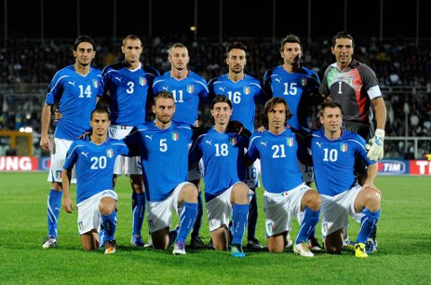 Italia er underdog i dette EM.