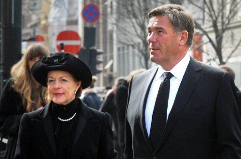 Stein Erik Hagen og Mille-Marie Treschow separeres.