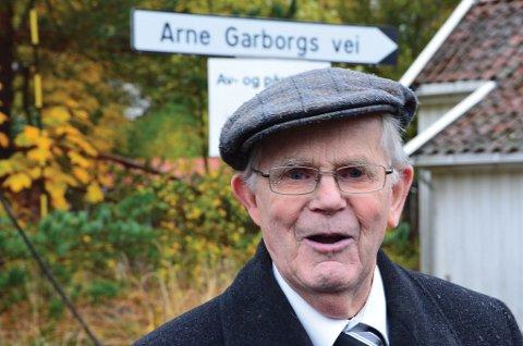 Uten Øyvind Bjorvatn hadde byen neppe hatt verken sin egen dikter, en Garborg-byste eller en Garborg-plass.  (Foto: Frode Gustavsen)