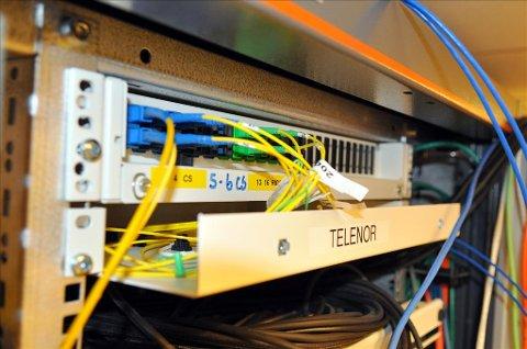 fibernett kart Tidens Krav   Vil legge fiber fibernett kart
