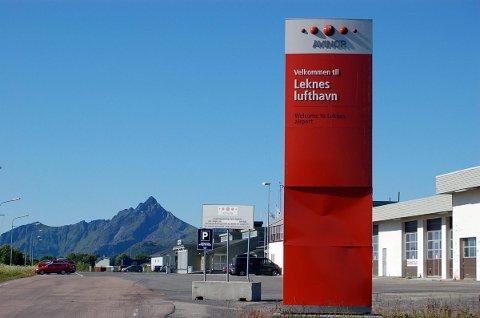 Brannøvingsfeltet ved Lekens lufthavn har en betydelig større mengde av giftstoffet PFOS enn tillatt.   Arkivfoto.