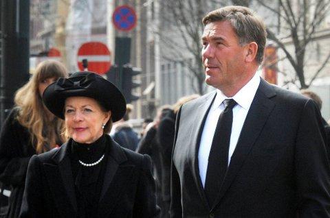 Mille-Marie Treschow og Stein Erik Hagen
