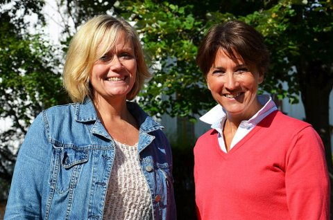 MÅLRETTET:  Mette Kristin Silseth (t.v.) og Anne Kari Grimstad er optimistiske med tanke på kommunens framtidige rusarbeid.