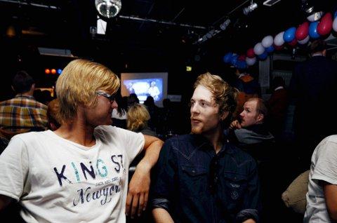 Tollak Braaten (t.v.) og Kristian Lyseggen er spente på det som kommer.