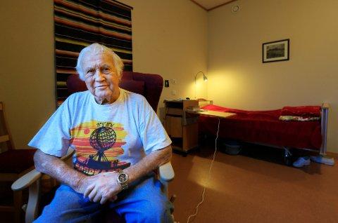 Endelig hjemme. Hans Haugen advarer mot spanske sykehus etter sine opplevelser.