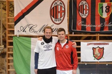 BLIDE ARRANGØRER. Kai-Inge Gavle (venstre) og Jarle Øvsthus.