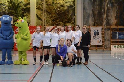 TIL TOPPS. «Julastjernene» fra Etne/Ølen vant damefinalen, noe de også gjorde i 2011.