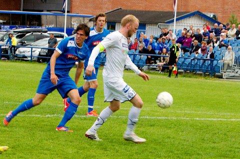 Daniel Hjaltason ble matchvinner med 3-2-fulltrefferen mot tabelleder Drammen etter at Modum hadde levert en fantastisk snuoperasjon.