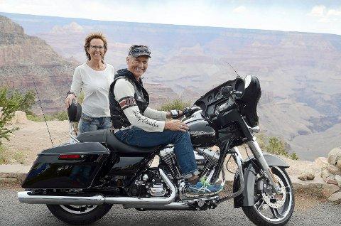 - Storslagent. Ikke mer å si om det, konstaterte MC-entusiastene fra Bjerkvik om Grand Canyon.