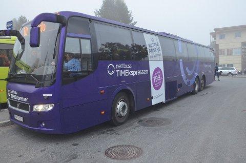 Busstilbudet opprettholdes: Hovedutvalget for samferdsel vedtok torsdag å opprettholde busstilbudet mellom Vikersund og Drammen.