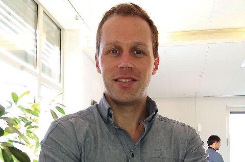 Rafael Escobar Løvdahl er snart til å melde været på NRK?s morgensendinger. (Privat foto)