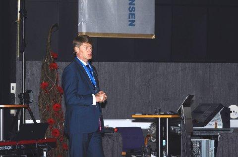 Direktør for operasjoner og feltutvikling i VNG Norge, Lars Katteland sier Pil og bue er viktig for selskapet.