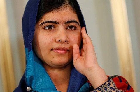 Malala Yousafzai er årets mottaker av Nobels Fredspris.