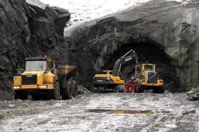 85 millioner kroner er foreslått bevilget til stamvegprosjektet E12 Umskaret. Foto: Arne Forbord