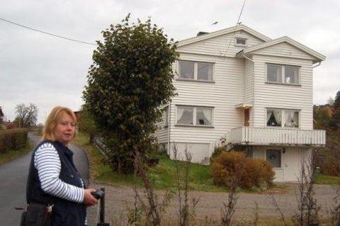 I Gamleveien: Christin Holm ble adoptert bort like etter at hun ble født. Senere fikk hun kontakt med sin kjødelige mor.