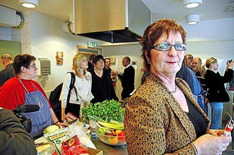 Gunn Olsen i Helse- og omsorgskomiteen ble imponert under besøket.