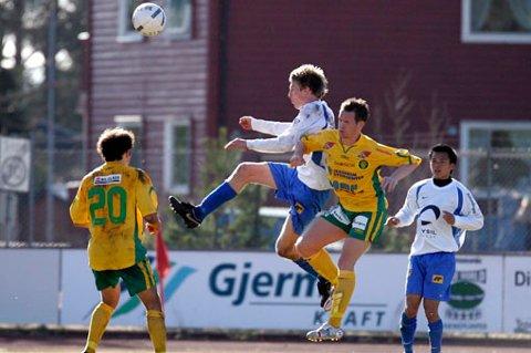 TAPTE: 0-3 tap for Kisa mot Nybergsund i serieåpningen. FOTO: GEIR EGIL SKOG