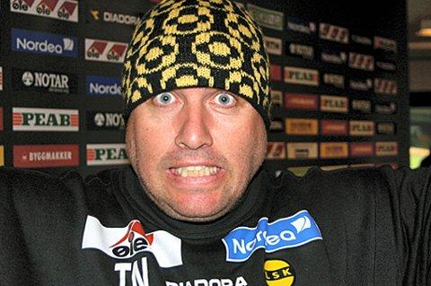 CUPKLARE: Tom Nordlie og spillerne er klare for cupfinale. FOTO: PER KRISTIAN TORVIK