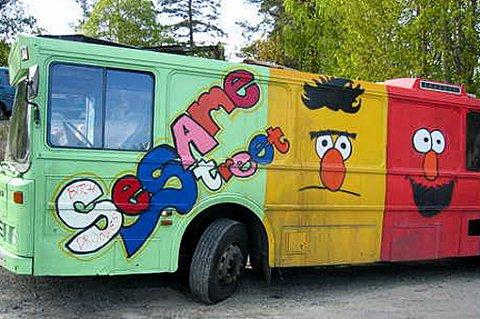 MANGLER PLASS: Denne bussen er det visst ingen som vil ha...