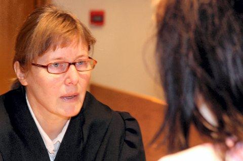 AKTOR: Statsadvokat Torunn Gran har nå gjort unna sitt innledningsforedrag. FOTO: KAY STENSHJEMMET