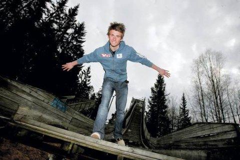 """Kim René Elverum Sorsell er den tredje """"ranværingen"""" som er innom hoppl andslaget siden tidlig på 90-tallet. De andre to er Pål Hansen og Morten Ågheim. Foto: Lisbeth Andresen"""